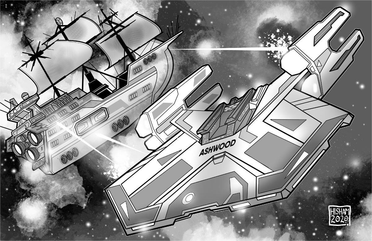 Ashwood vs a Skyship