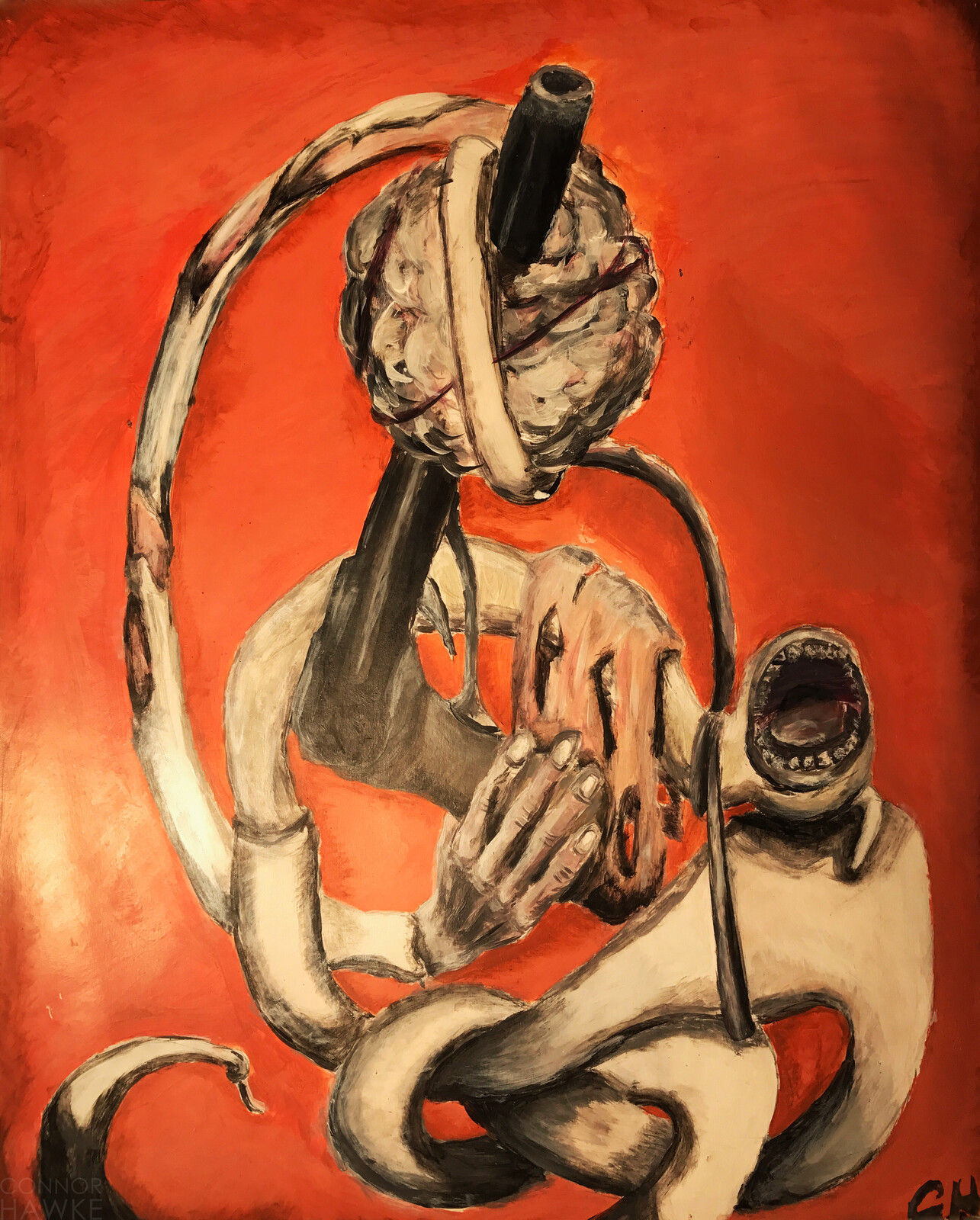 """Rage"" by Connor Hawke"