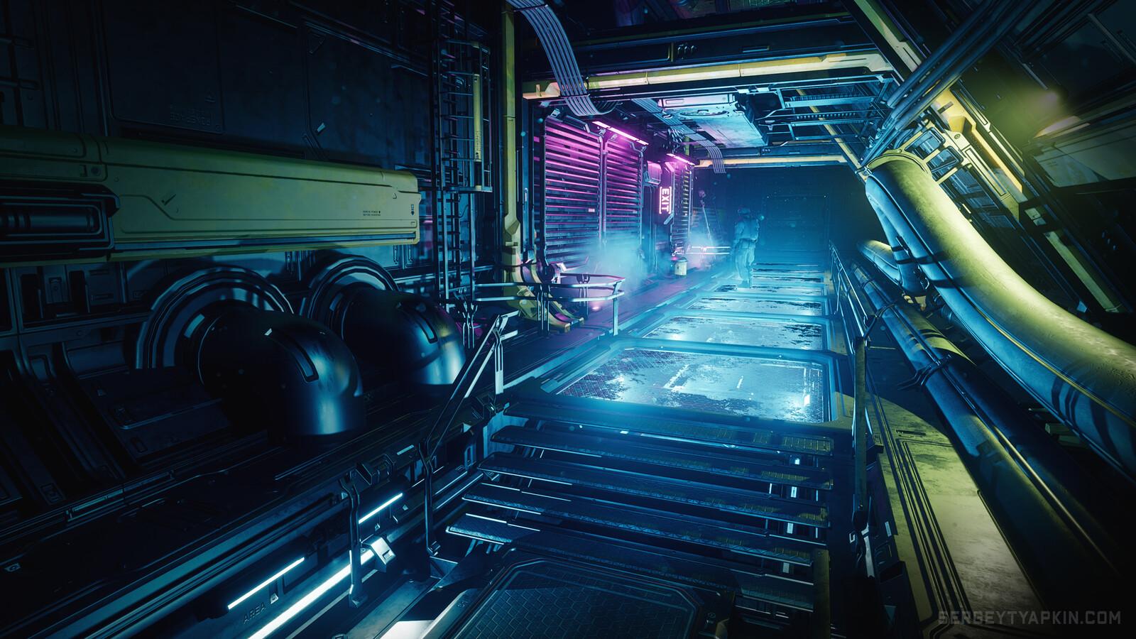 3 Days - 3 Environments (UE4)