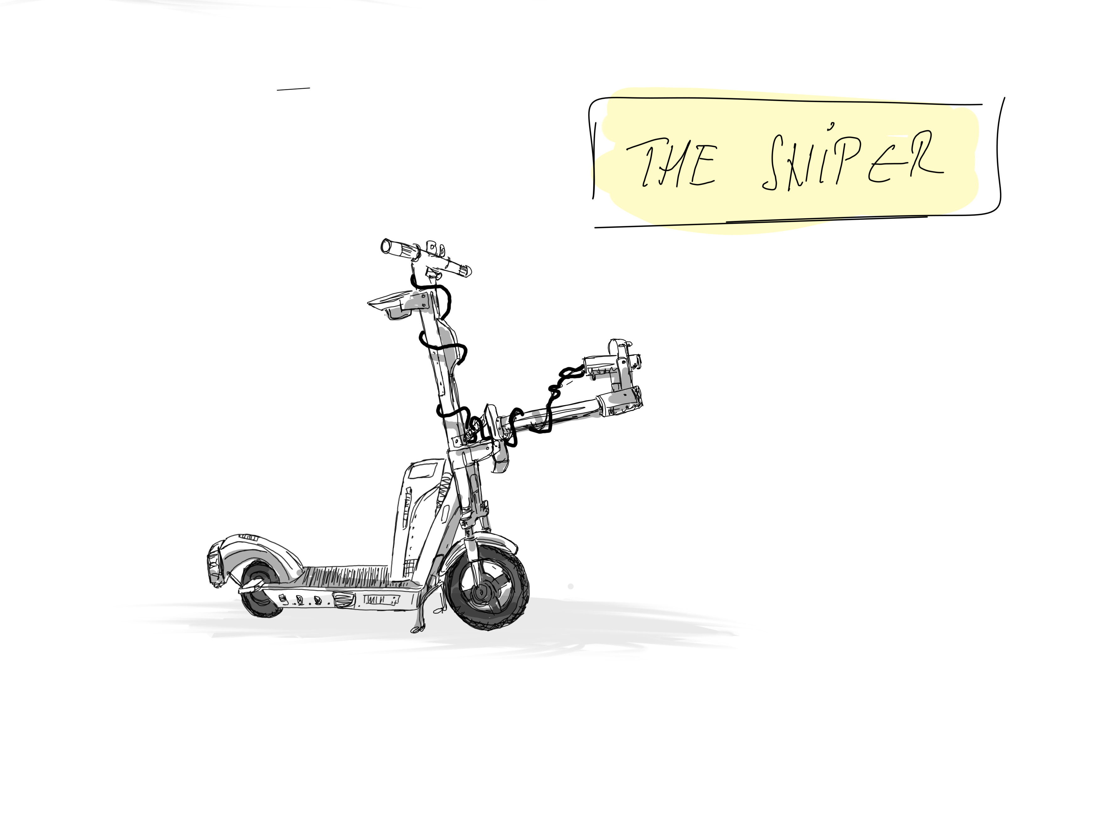 Vehicle 05. The Sniper