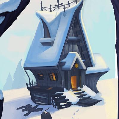 Nar genc snow house artsattion