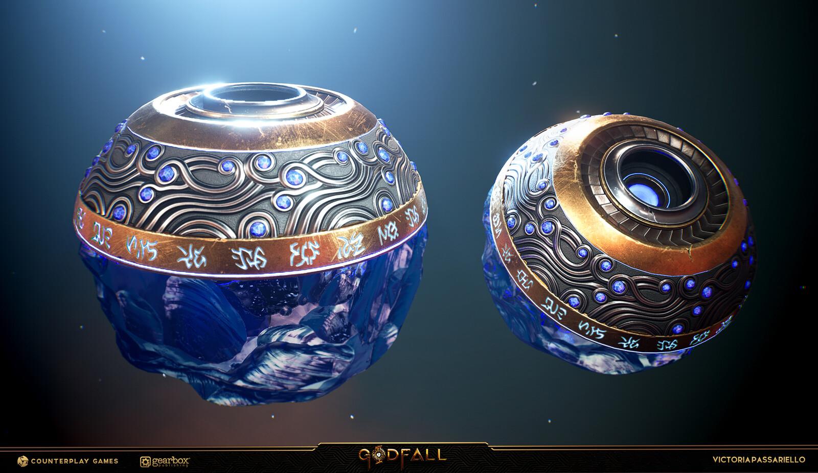 Crystal Shader made by Kurt Kupser