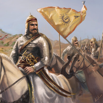 Arsalan khan rider of the blue horse