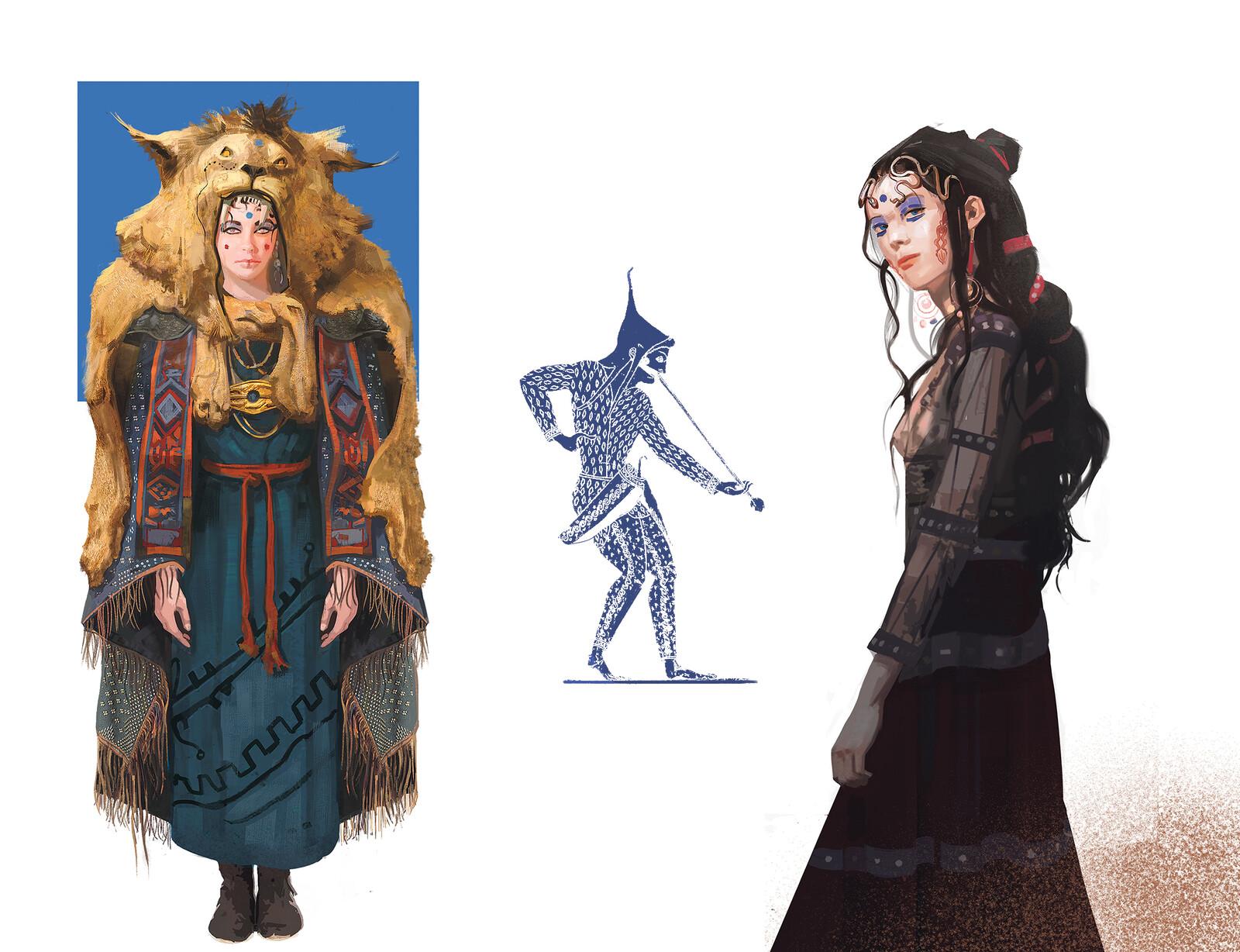 Zete and Pasitea - Character Mentorship