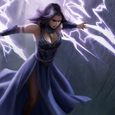 Bram willemot lightning mage