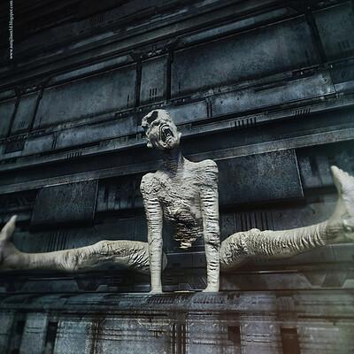 Surajit sen goliaths digital sculpture surajitsen dec2020aa ll