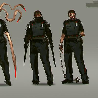 Benedick bana zombie police