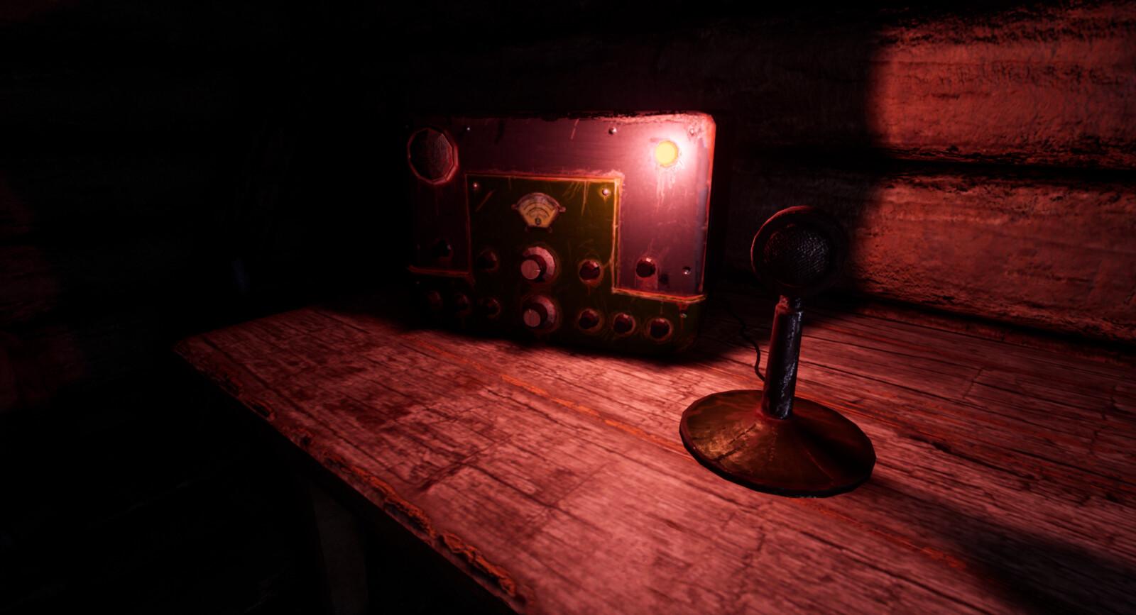 Arachnophobia old radio prop