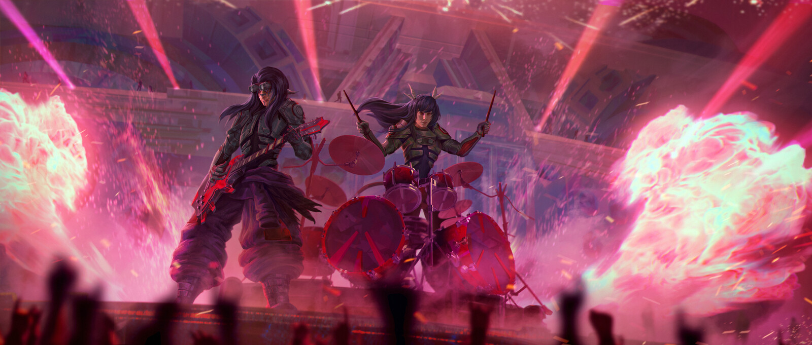 Inox and Nox Metal Duo