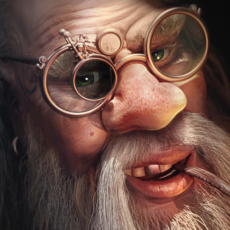 Dwarf Tinkerer The Elder