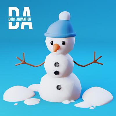 Doriana pompili snowman cor logo