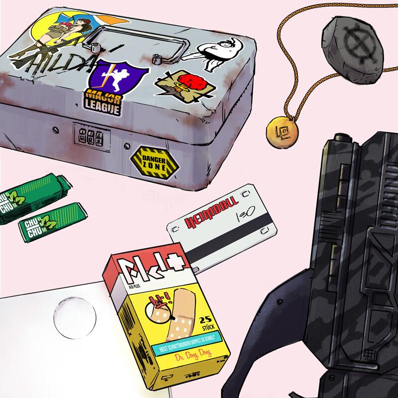 Hilda's stuff
