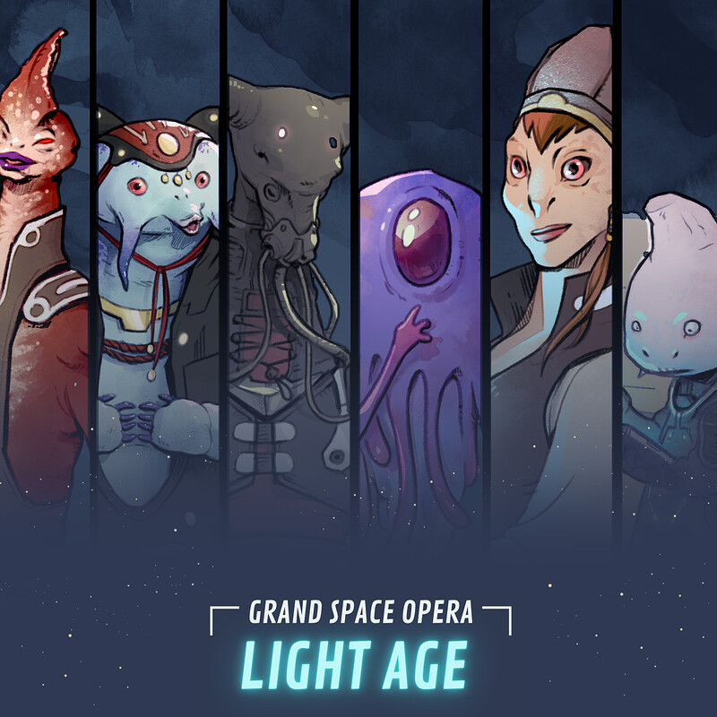 Grand Space Opera: Light Age