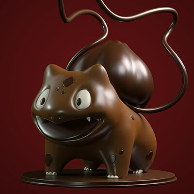 Chocolate Bulbasaur
