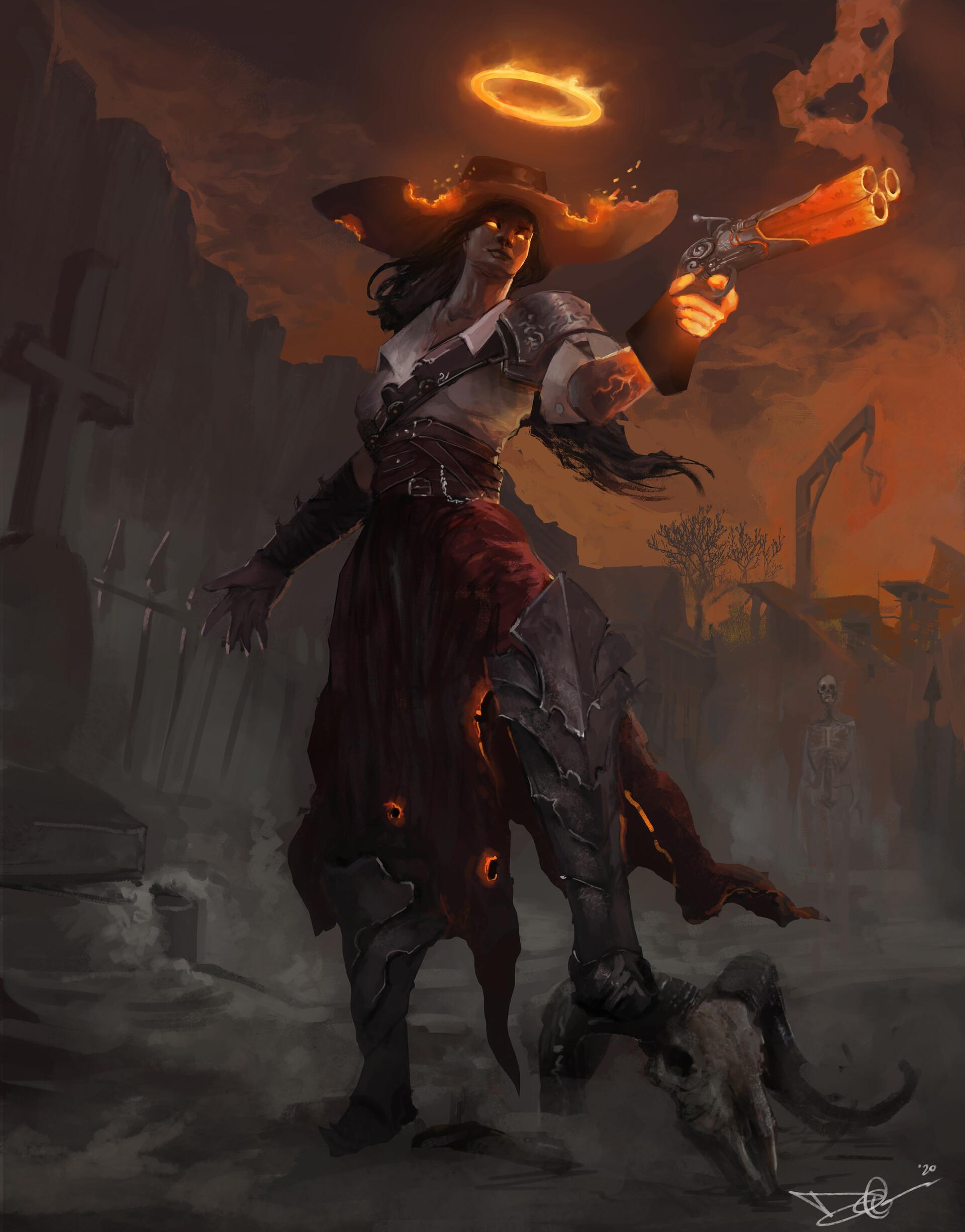 Grace, the Hellwarden
