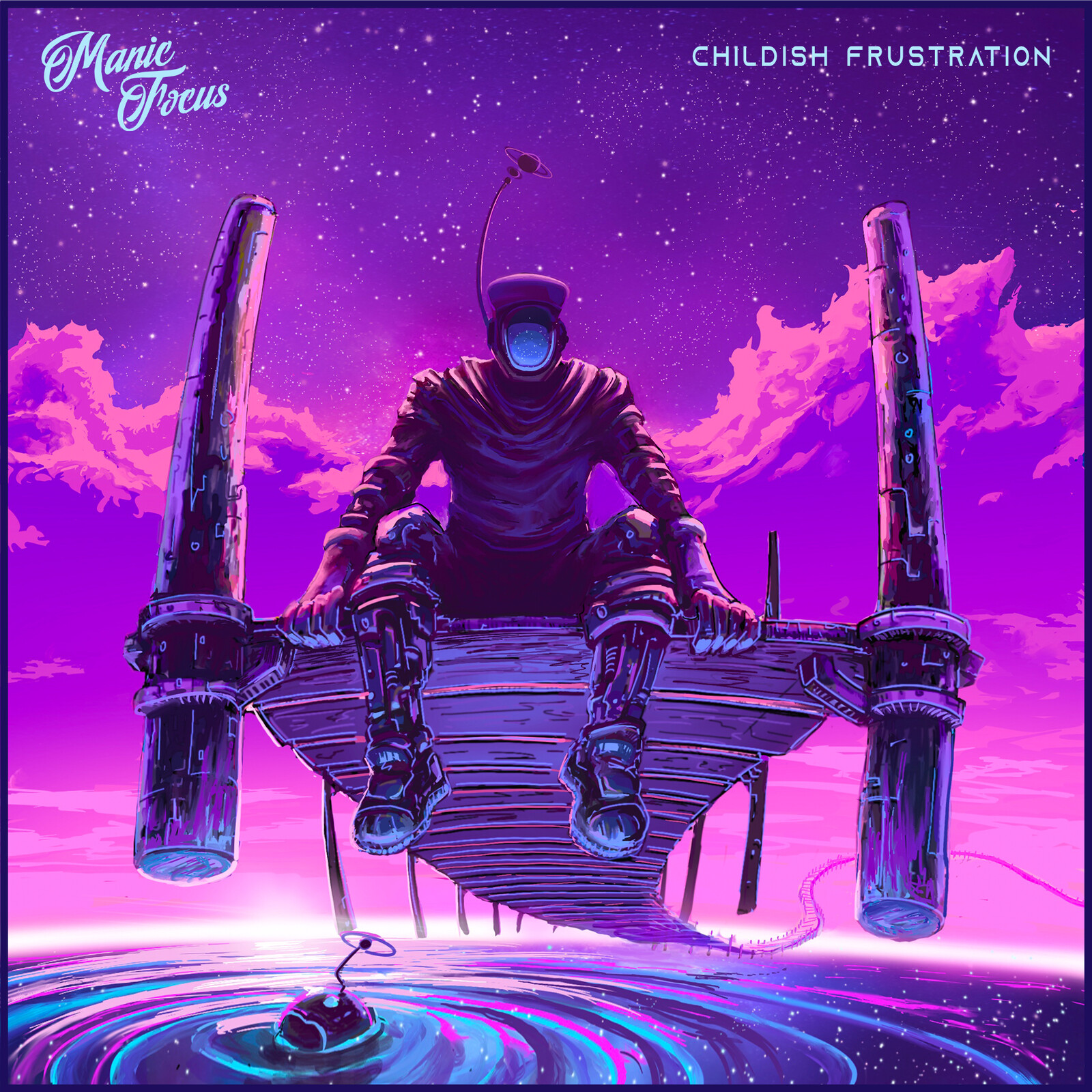 """Space Dock created for Manic Focus's single """"Childish Frustration"""""""