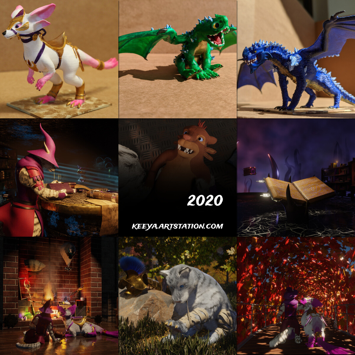 A Year of Art - 2020