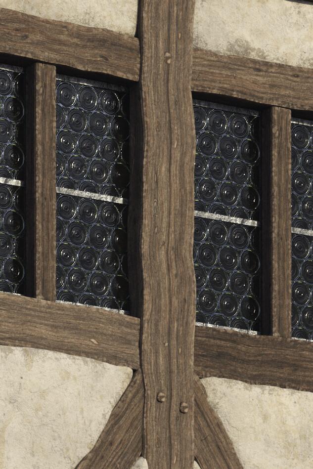 Crown glass detail