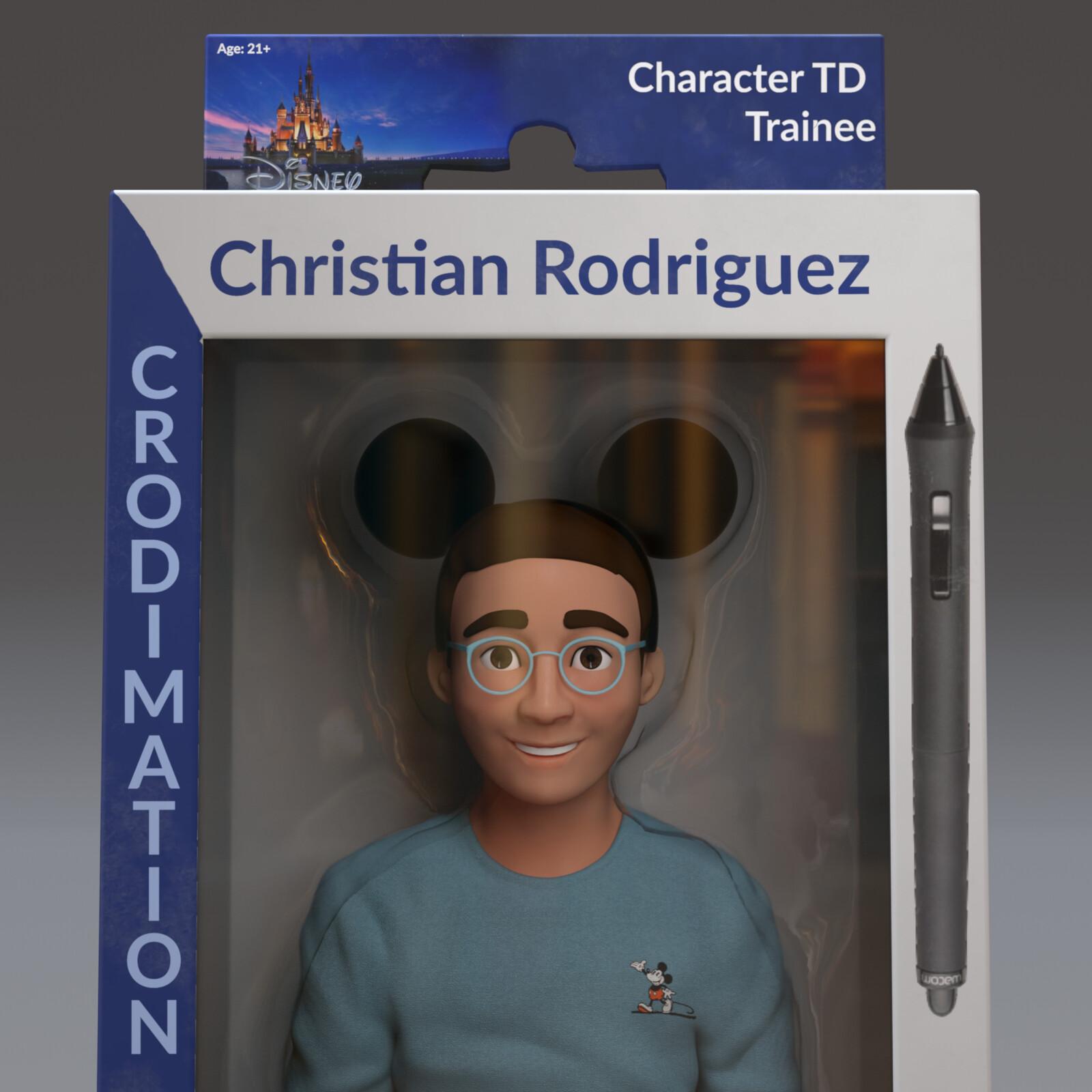 Toy Self Portrait