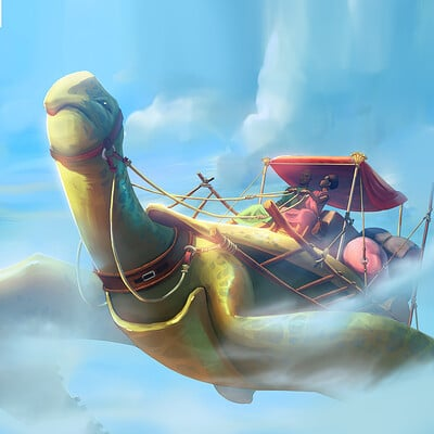Godwin akpan sky turtle