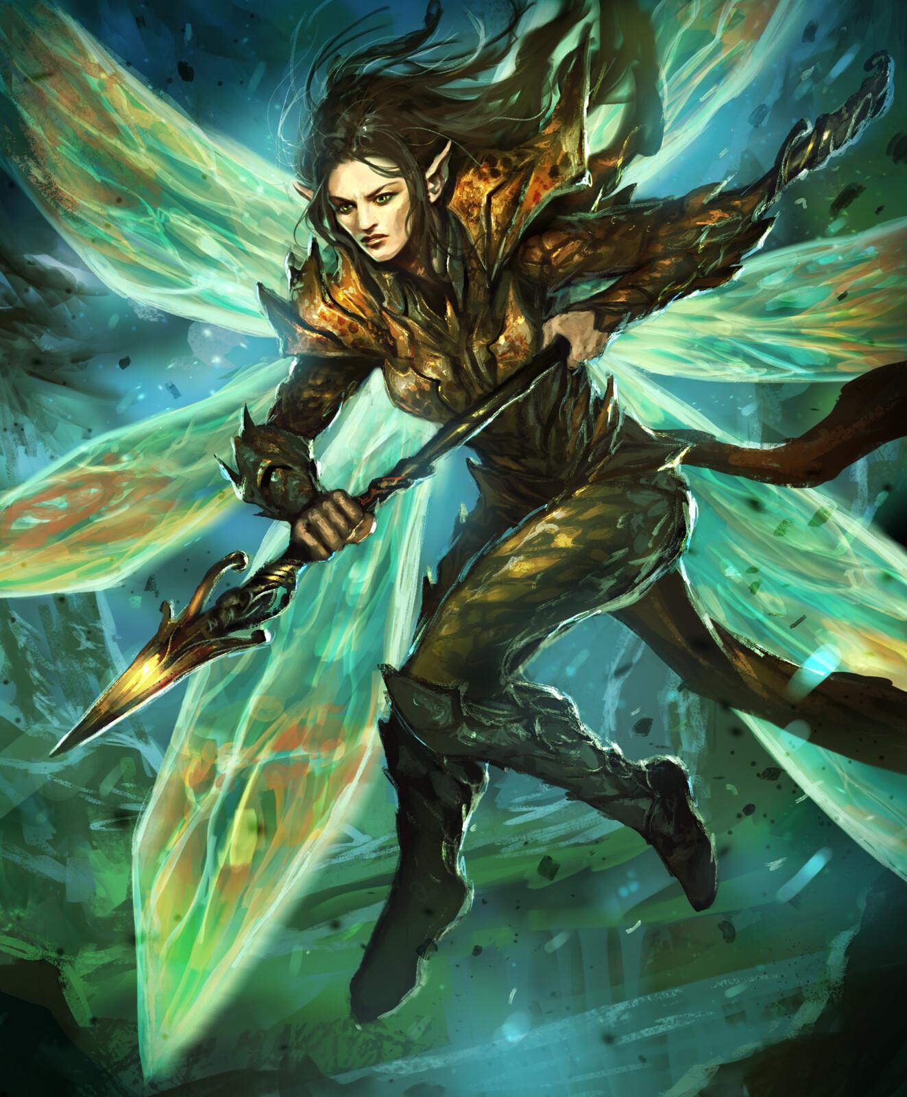 Fairy Warrior-Arcane Gladiator TCG
