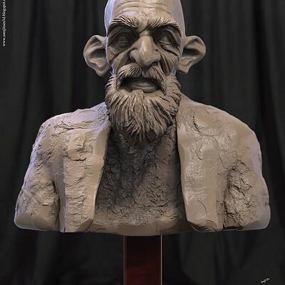 Surajit sen hemant2 5 digital sculpture surajitsen dec2020a l