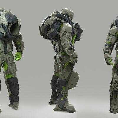 Yuetlam lo exoskeleton