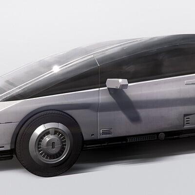 Neil blevins futuristic car 5