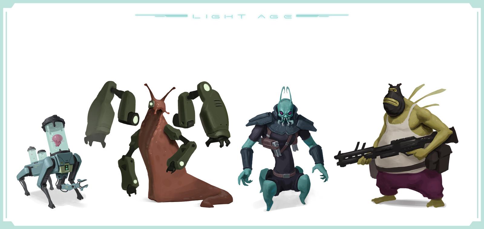 Alien Merc Squad
