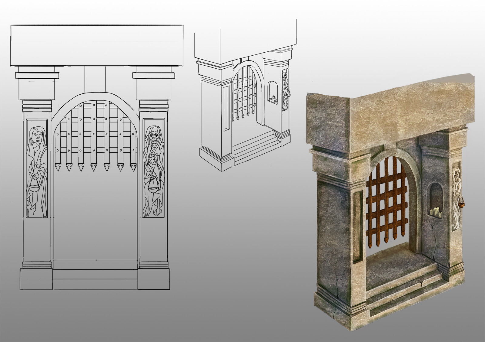 Gate sketch and concept