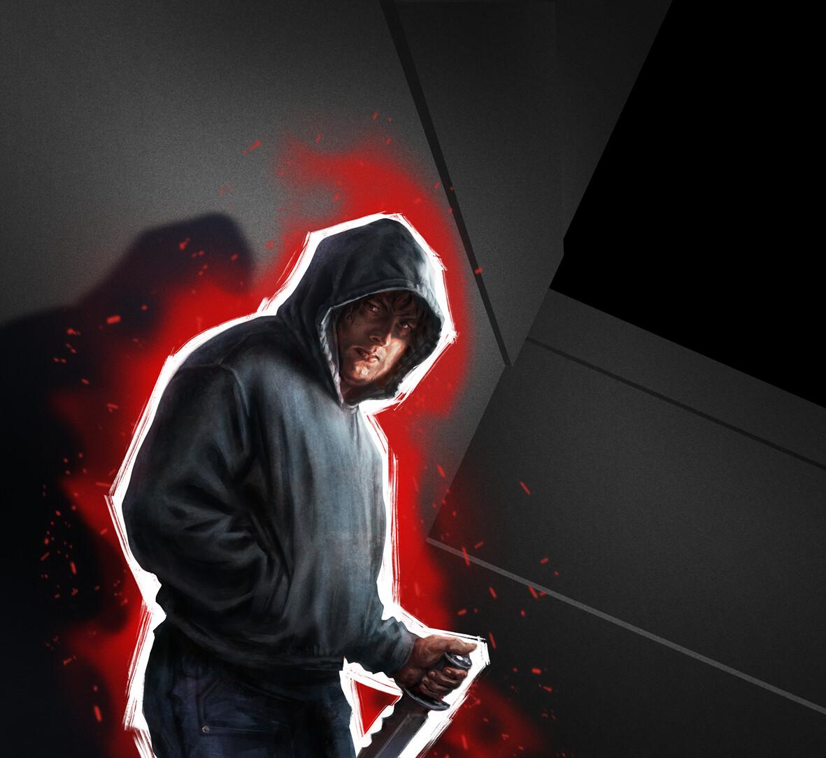 Assassin (evil – red)