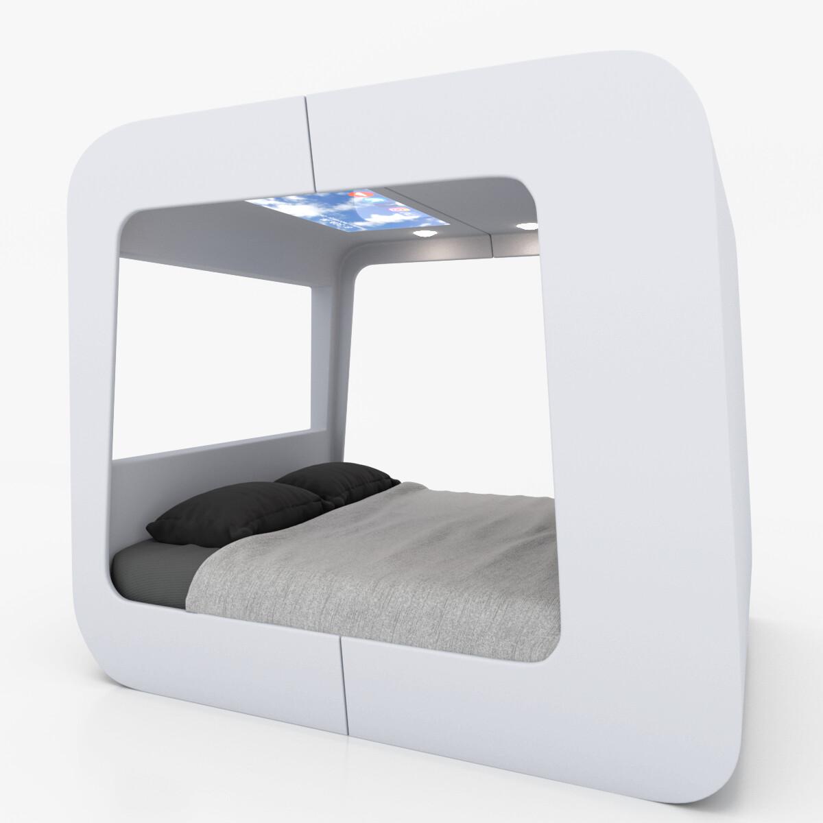 Jill Johnson Futuristic Bed