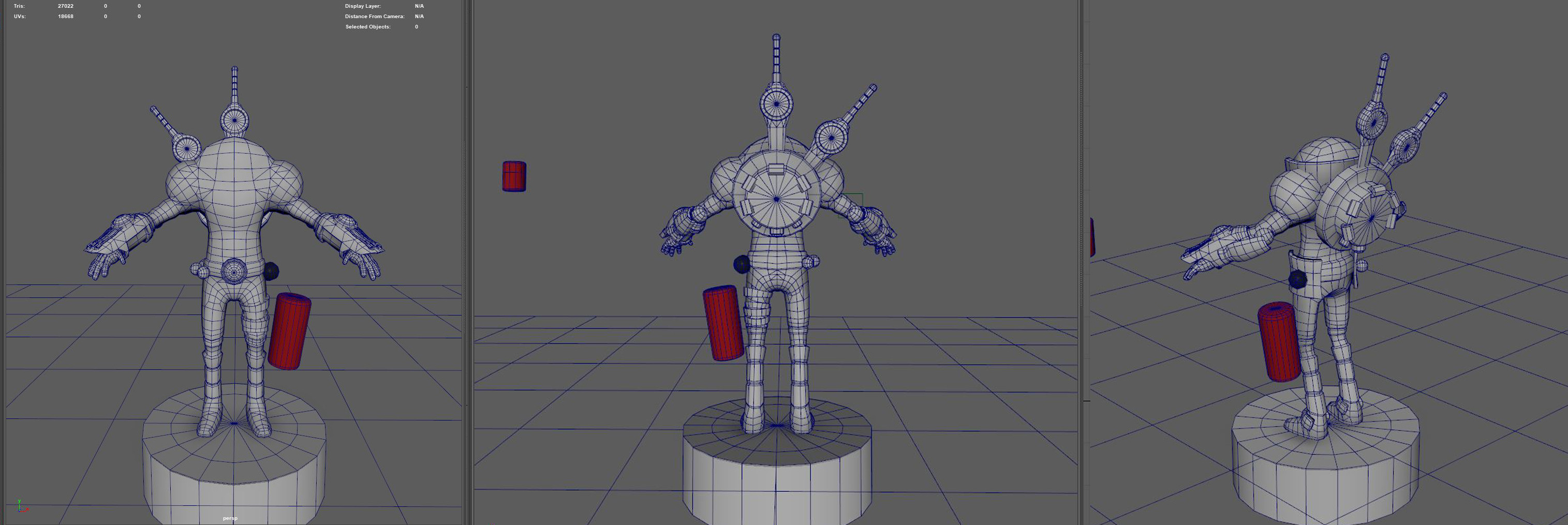 base character (version 2.0) + wireframe