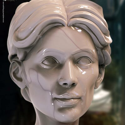 Surajit sen helen digital sculpture surajitsen jan2021aa l