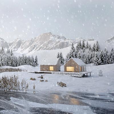 Agnieszka kasprzak snow mountains scene 3