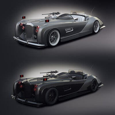 Encho enchev the red skull car concept 1