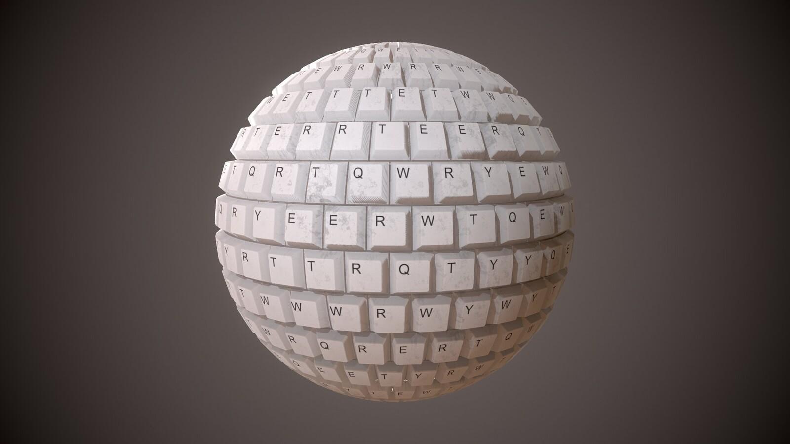Keyboard MatBall