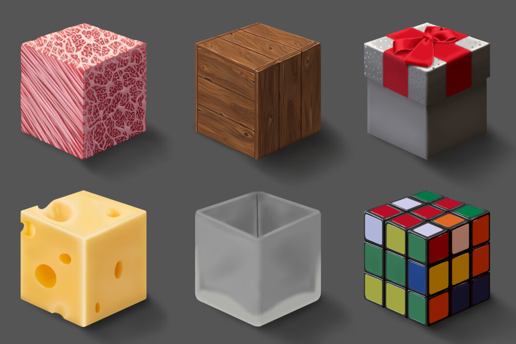 Material Cubes