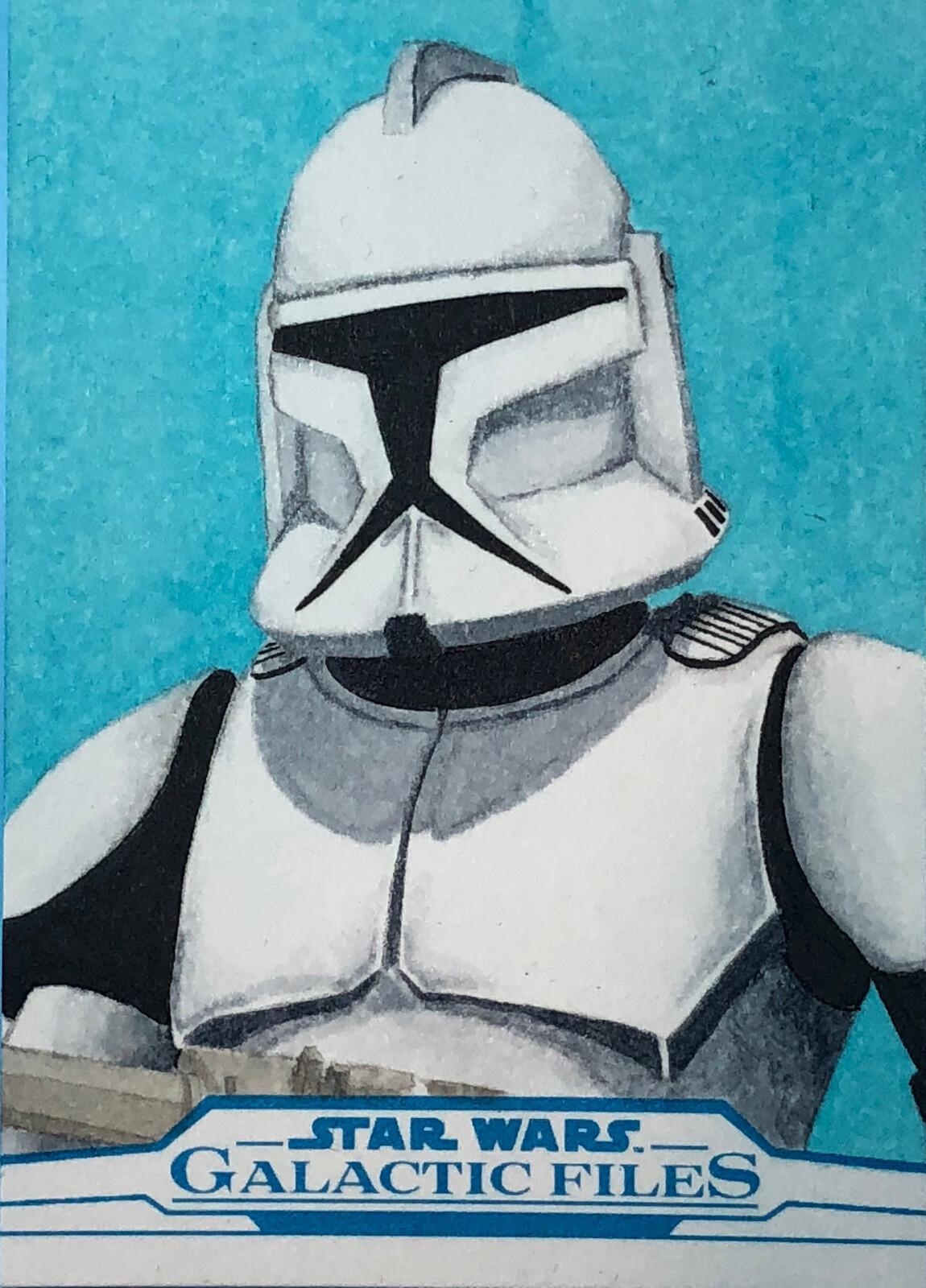 A Phase One Clone Trooper