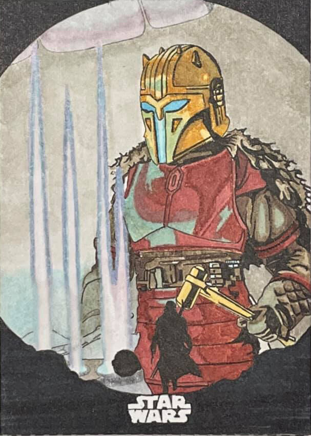 The Armorer from The Mandalorian