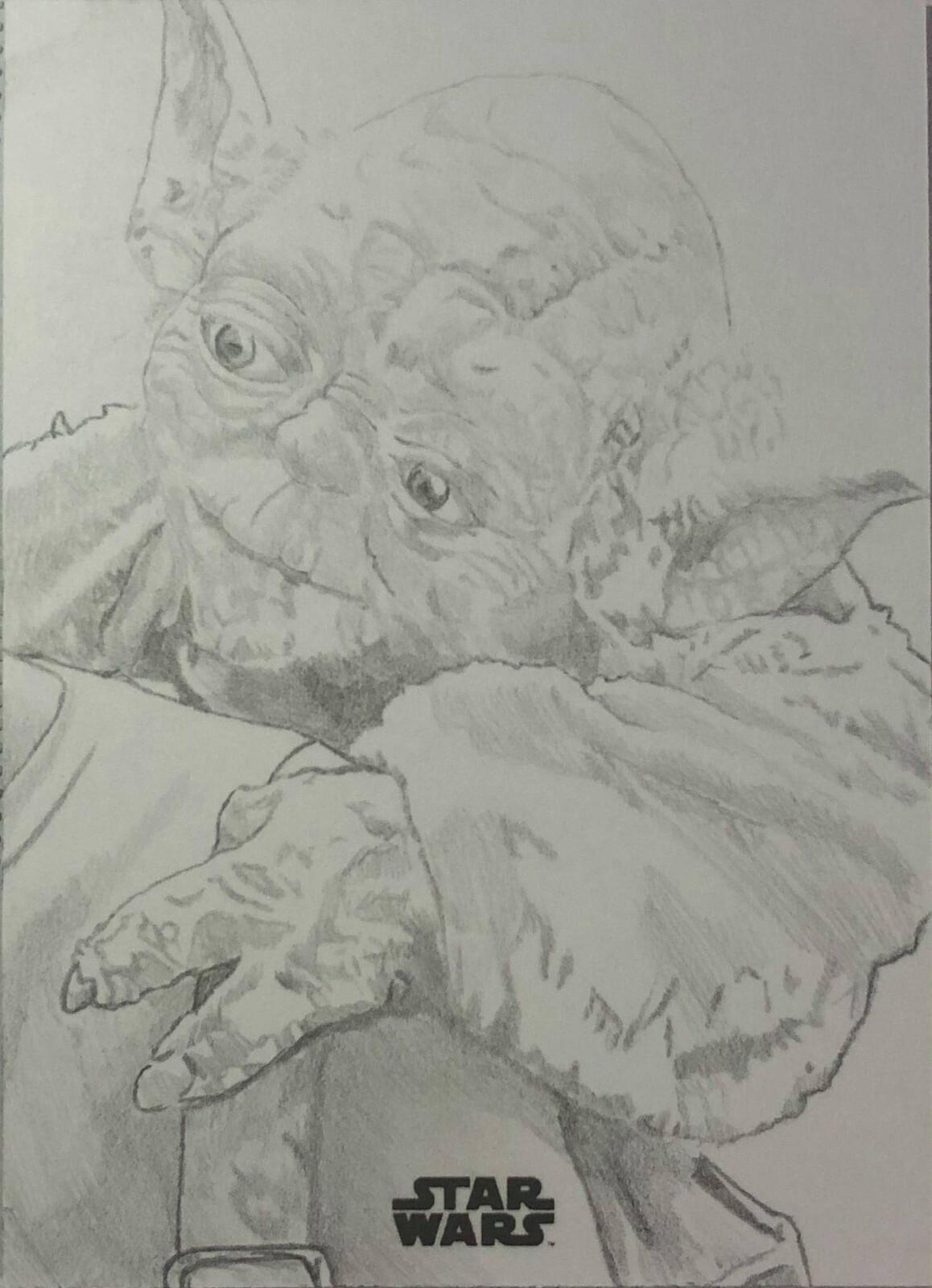 Yoda from Empire Strikes Back