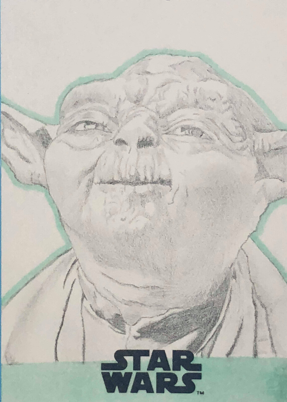 Yoda's force ghost from The Last Jedi