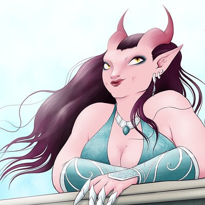 Alyce sarich thoughtful demoness web 1