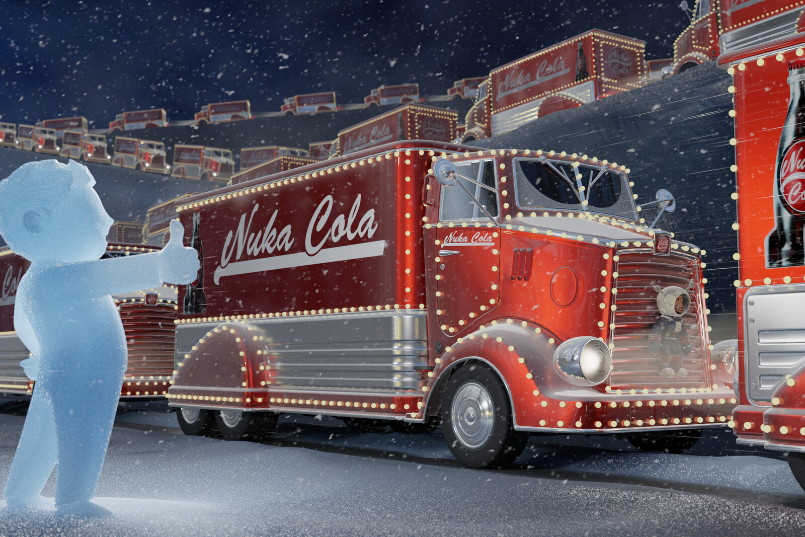 Nuka Cola Christmas Card 2020