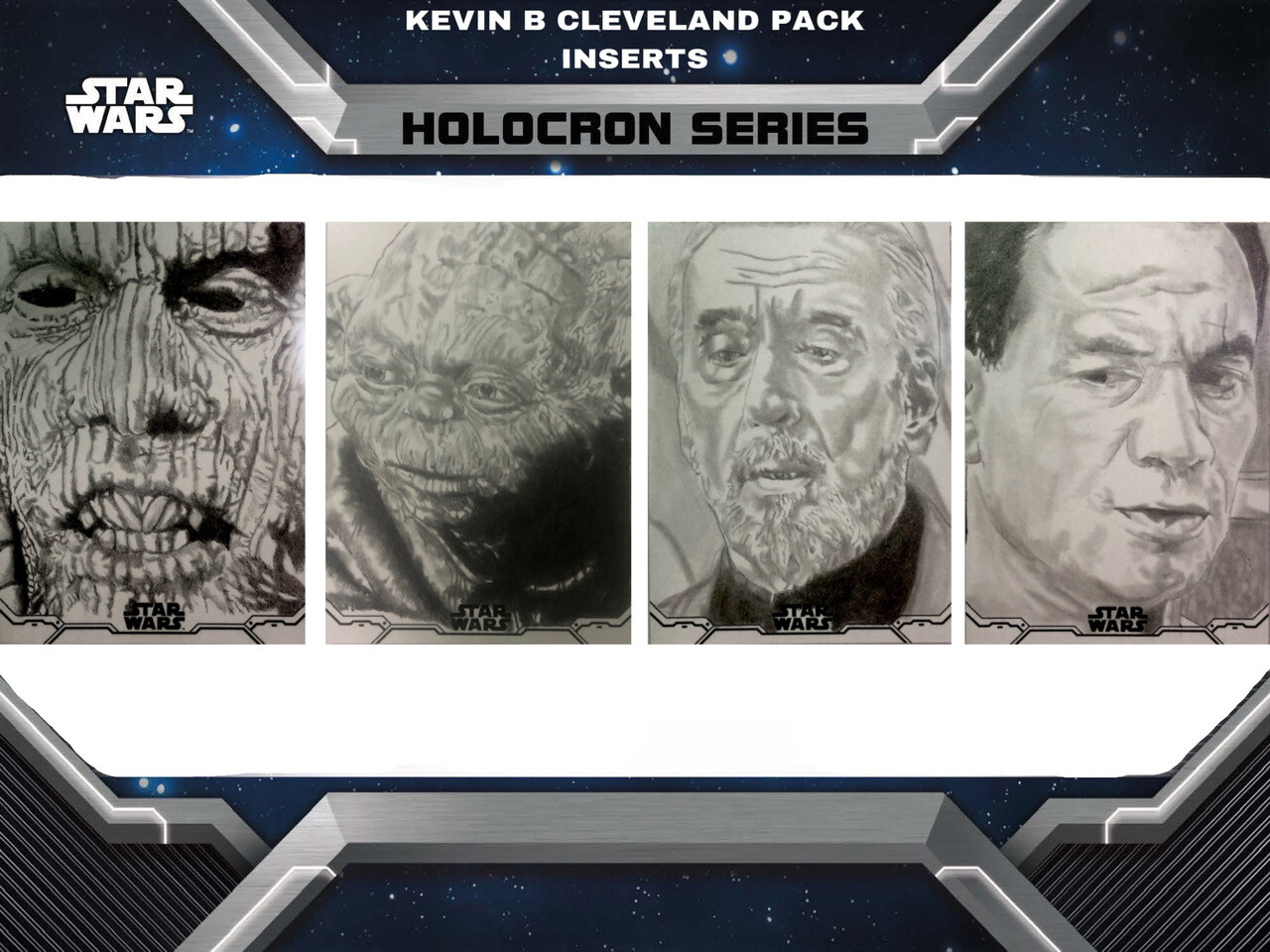 Topps Star Wars Holocron pack inserted sketch cards