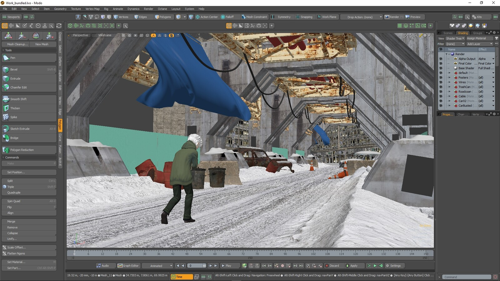 Here's what it looked like in Modo