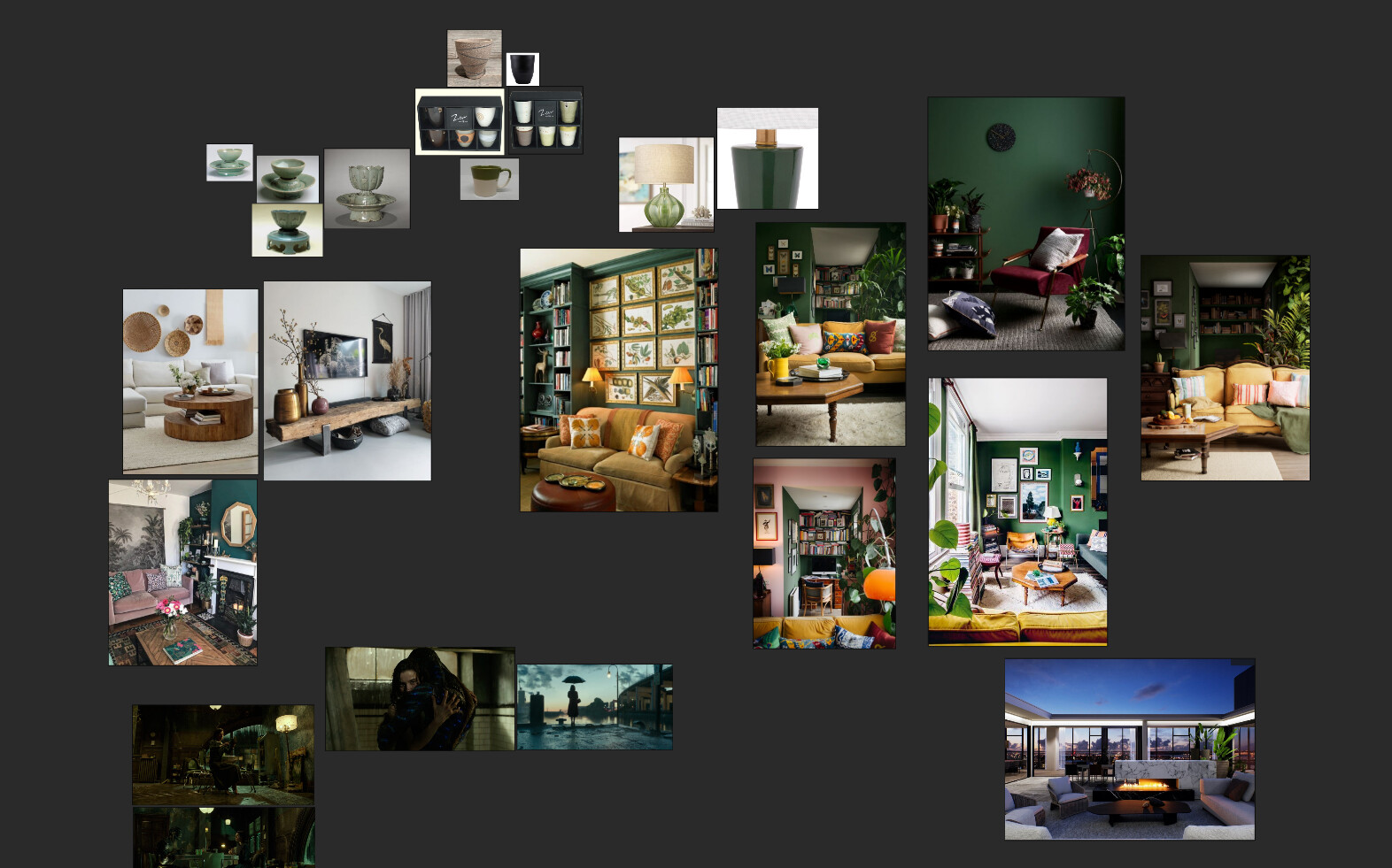 Reference board/ Moodboard