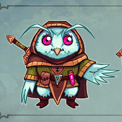 Chema samaniego owl