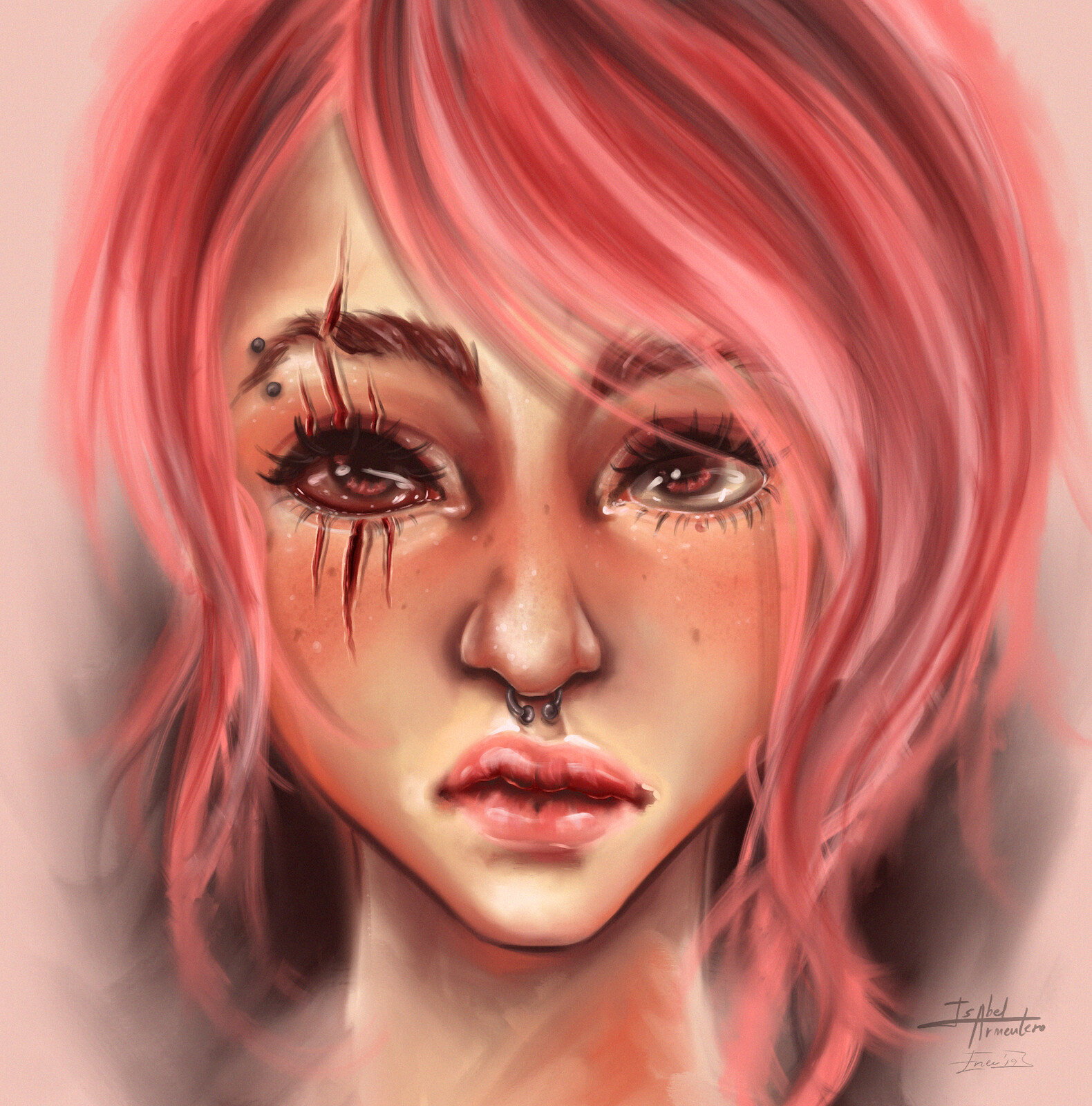 Illustration // Scars