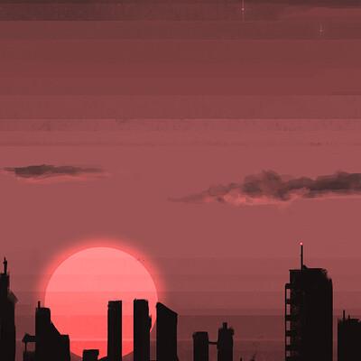 Martin estebani city sunset2